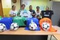 Entrega de Uniformes a Equipos de Fútbol