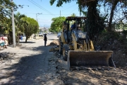 Trabajos en Av. Raúl Contreras
