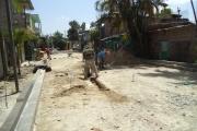 Avance de proyecto en Pje. Pérez, Bo. San Juan