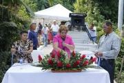 Inauguración de proyecto en Cas. Los Marroquines