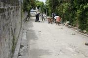 Avance de proyecto en Cantón Carrizal, Sector La Escuela