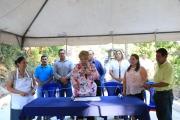 Inauguración de Proyecto, Calle Principal Caserío Los Gálvez