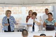 Inauguración Proyecto Cas. Cusuco, Ctn. Cujuapa