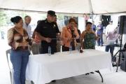 Inauguración de Proyecto en Comunidad El Pino