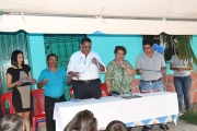 Inauguración de proyecto en Col. Divina Providencia, Av. San Ramón