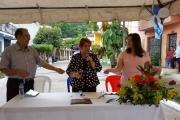 Inauguración de proyecto en Colonia Santa Lucía