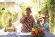 Inauguración de proyecto en Pasaje Miralvalle, Bo. San Juan