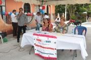 Inauguración de Proyecto en Col. Santa Clara