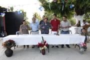 Inauguración de Proyectos en Col. Reparto Las Alamedas, Pjes. 8 y 9