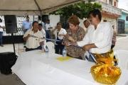 Inauguración de proyecto Col. San Antonio II