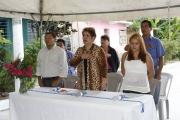 Inauguración de Proyecto en Col. Santa Leonor, Pasaje 4