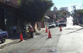 Reparación de calle
