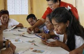 Taller de alfabetización para adultos mayores