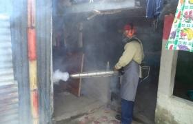 Campaña de fumigación en Comunidad La India