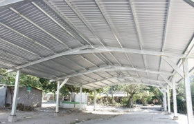 Construcción Galera Cantón Cujuapa