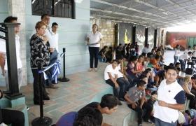 Inauguración Proyecto Construcción de Desvestideros